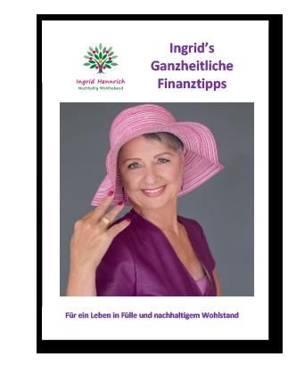 Ingrids ganzheitliche Finanztipps - der Newsletter