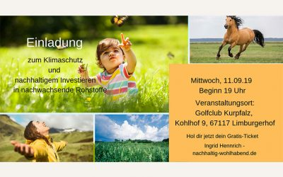 Neues Event am 11.09. in Limburgerhof