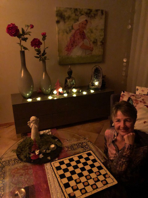 Heiligabend 2020 bei Ingrid