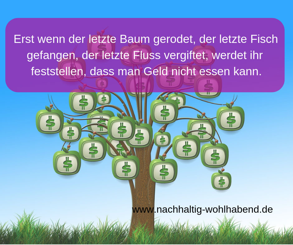Zitat über deinen Umgang mit Geld