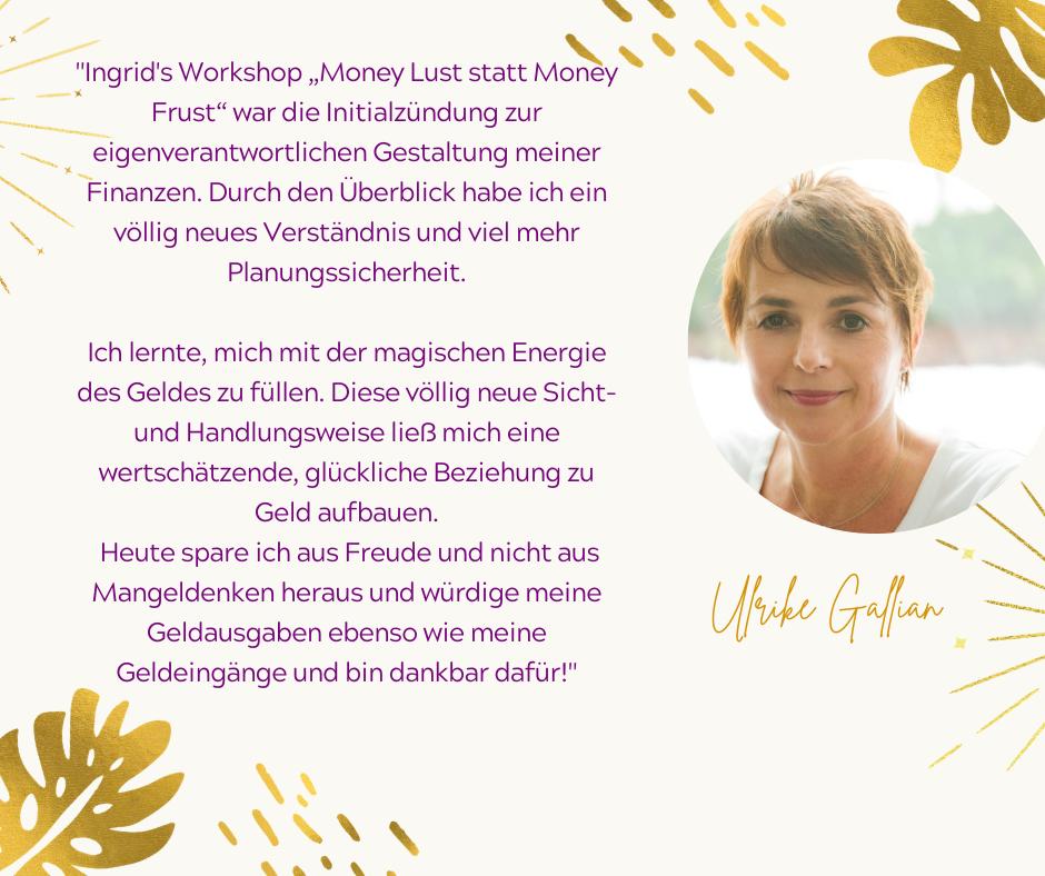 Testimonial Ulrike Gallian